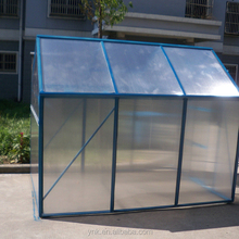 Pe Garden tunnel greenhouse for flower or for vegetable