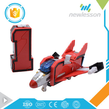 Hot funny kids carton plastic digital deformation robot boy toys for alibaba china