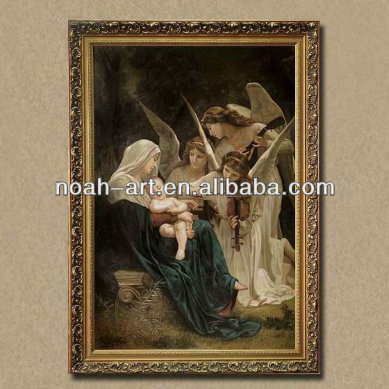 Handmade framed reproduction oil paintings of William-Adolphe Bouguereau