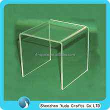 Crystal Clear Acrylic Display Riser Platform Lucite Pedestal Risers