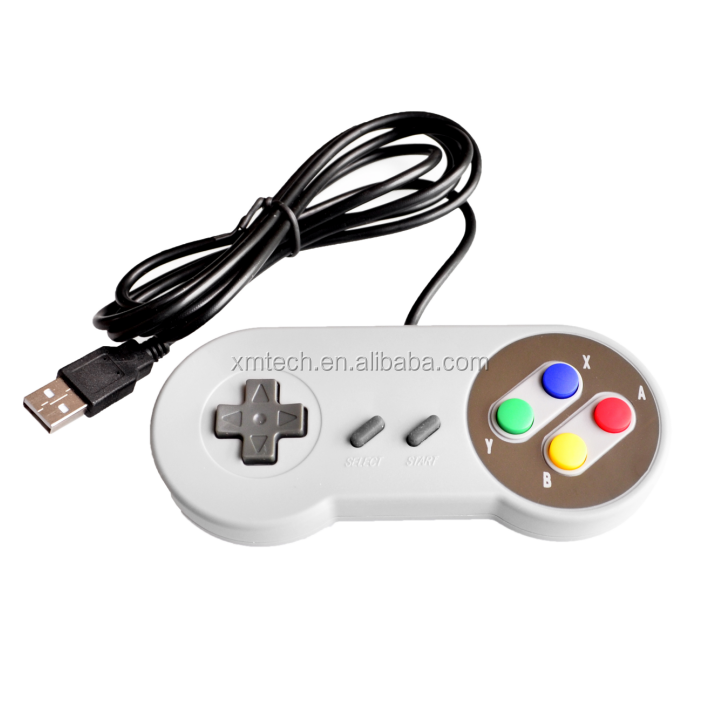 USB Controller Gamepads PC Controllers Joypad Joystick Raspberry pi 3 USB Replacement for Super Nintendo SF for SNES Windows MAC