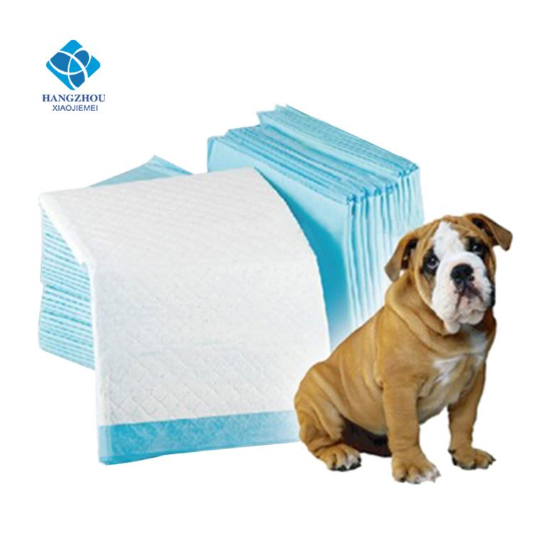 Disposable eco friendly color indoor dog potty Puppy pee Training Pads