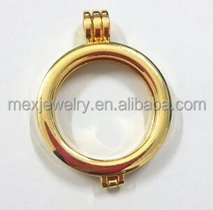 Cheaper Alloy Coin Locket Pendant without Glass Coin Holder fit 33MM Coins