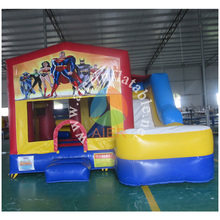 Aier used bounce house for sale craigslist, Hero cartoon theme combo for sale, China bouncy castle prices