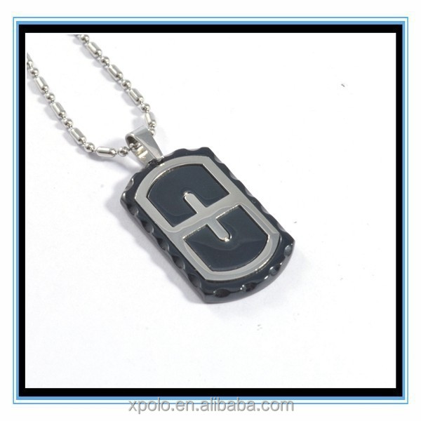 XP-MP-099411 FACTORY PRICE Antique Silver Plated Cross Pendant Necklace