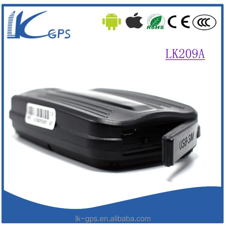 China Manufacturer lk209a and Magnetic Card Reader, GPRS 3G Vehicle GPS Tracker