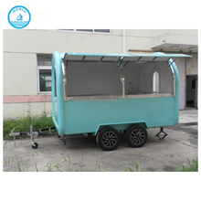 Shanghai mobile bbq trailers for sale/camion de comida/scooter trailers sale
