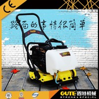 reliable hot sell honda engine petrol vibrating plate compactor for road construction