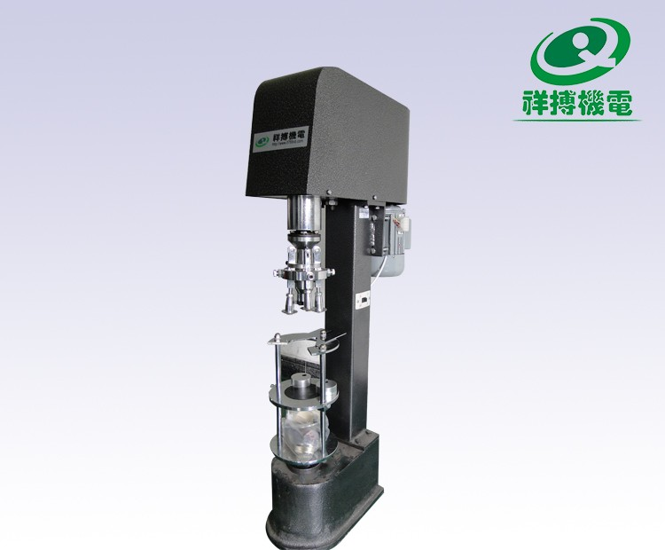 Semi automatic bottle stelvin screw cap capper