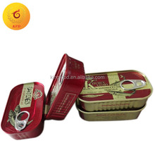 canned sardine price color printing canned sardine with factory price