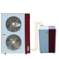 inverter split evi air source heat pump TUV certified supplier