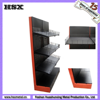 retail metal Orifice plate hospital bed display stand/potato chip display stand/supermarket display rack