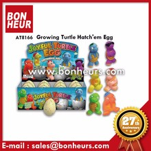 New Novelty Toy Colorful Growing Pet Turtle Hatch Egg