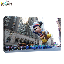 Realistic fine art prints mickey mouse paintings buildings famous artists