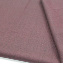 Deep red purple for high quality regular ready stock merino worsted 100% Wool suit textile fabric