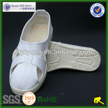 [LOW PRICE HIGH QUALITY] 4 hole cleanroom esd shoes PU shoes new