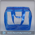 custom made portable clear plastic makeup cosmetic bag