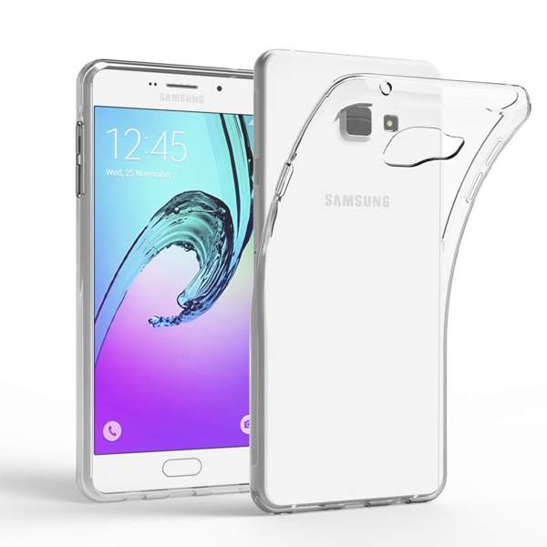 C&T Transparent Clear TPU Silicone Soft Shell Phone Case Cover for Samsung Galaxy A7 2016