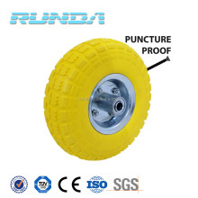 heavy duty hand trolley wheel pu foam wheel 3.50-4