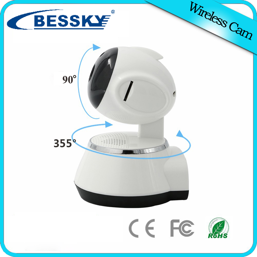 Wireless 720P Network Security CCTV IP Camera Night Vision WiFi Webcam Pan Tilt Home Surveillance Alarm System