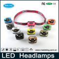High power led headlamp dimmable with bright led lamp use for outdoor activities