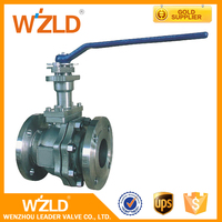 WZLD OEM API 598 Two Way Casting Or Forging Pneumatic Actuator Cryogenic Safety Ball Valve