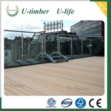 Anti-rot and anti-static price wpc decking outdoor wood composite deck board