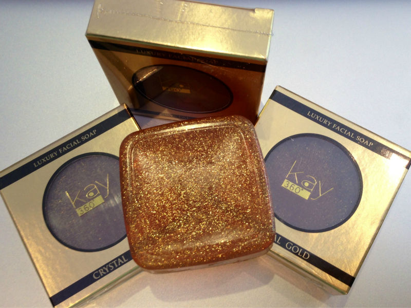 Crystal Gold Soap