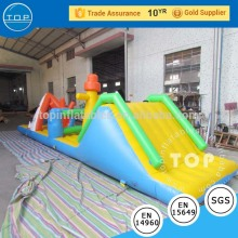 TOP slides sale giant floating water park inflatable swimming pool for fun