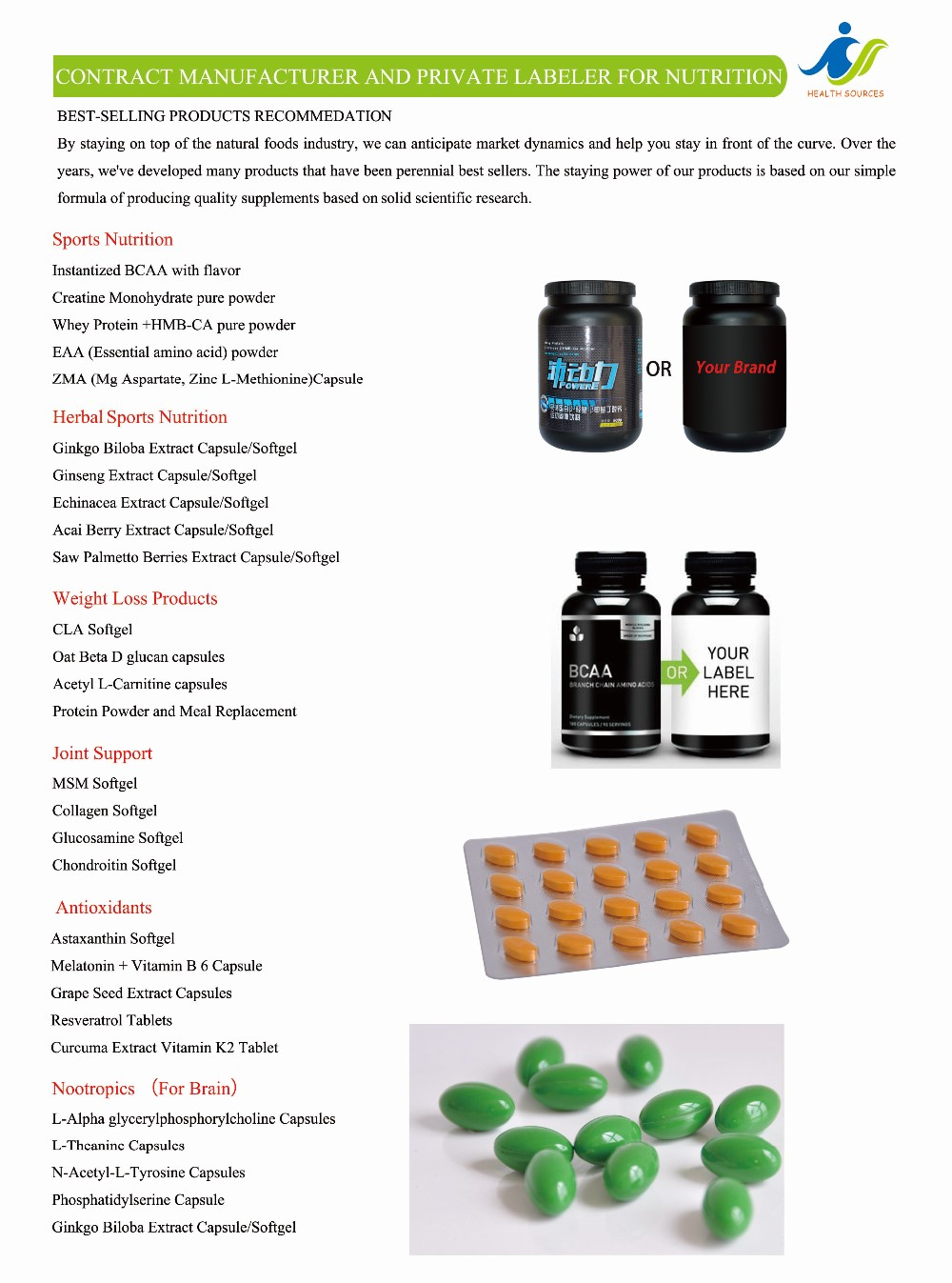 bcaa whey protein powders with brand package