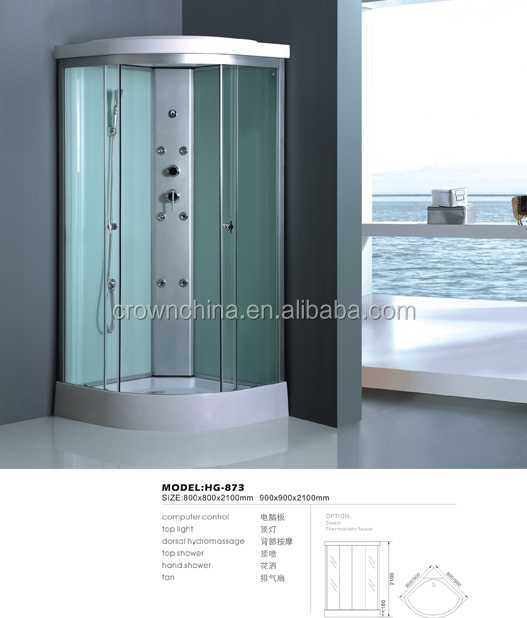 shower cabin,economic hot sale shower room corner spa whirlpool jet bath