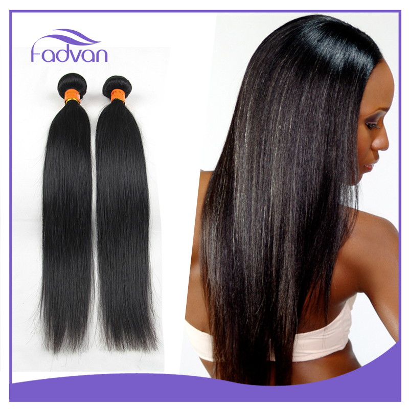 Best selling straight Hand tied indian virgin hair weft 100% human hair bundle