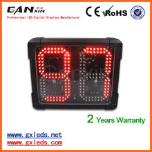 "[GANXIN]8"" Queue Led Counter Display for Outdoor Use Alibaba.com"