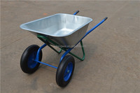 Russia wheelbarrow,names of construction tools,Aluminium double wheel barrow