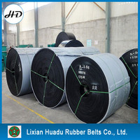Long service life impact resistant gravel,stone,sand,rock used rubber conveyor belt