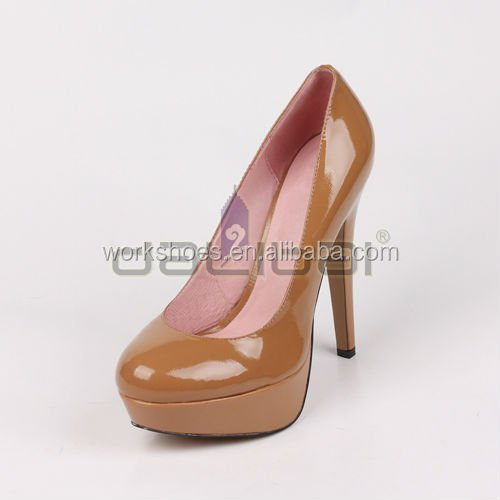 high heel top quality ladies pumps dress /office/company women leather shoes