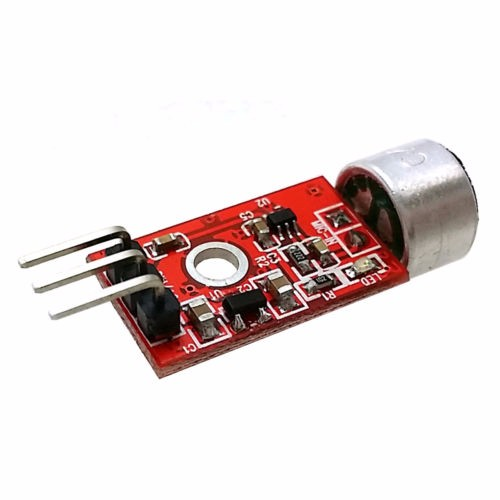 Red MAX9812 Microphone Amplifier Sound Voice Module for Ardu