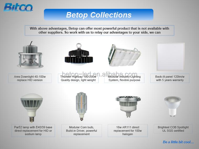 Led High Bay Light Fixture 70deg Pc Reflector With Lens