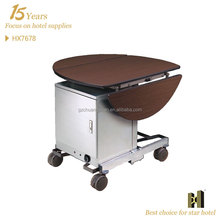 Dinning room trolley with food warmer