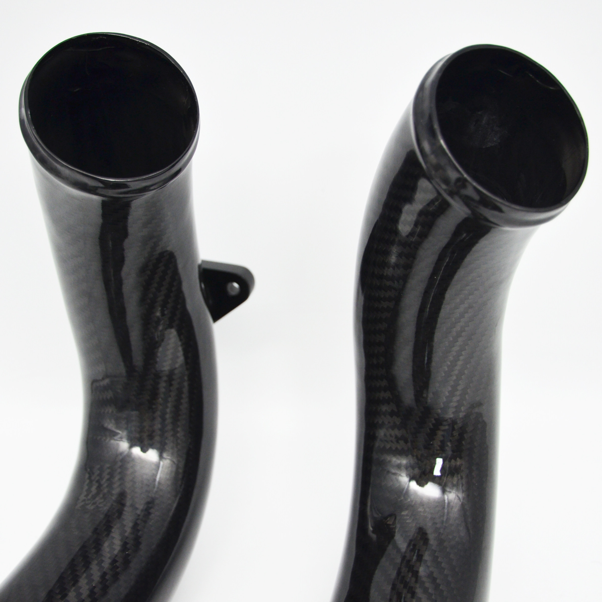 Cheaper custom made carbon fiber bent tube, molding 3k carbon fiber bike frames tube