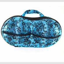 Wholesale custom luxury zipper fabric underwear clothes storage box