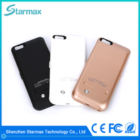 Best selling high quality rechargeable battery case for iphone 6 plus