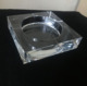 MH-YG0018 clear customizable glass crystal square ashtray