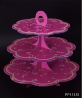 Custom 3 tier paper cupcake stand for Christmas or wedding