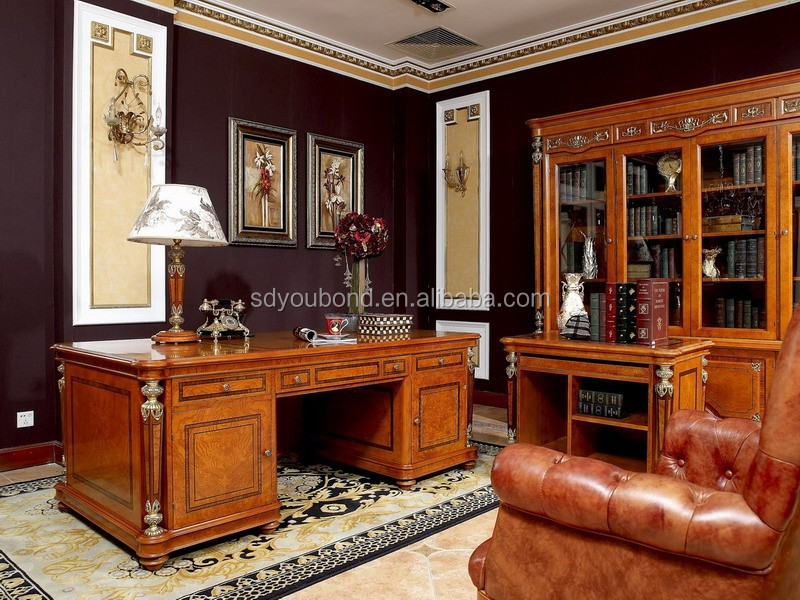 0029 Classic Royal Office Furniture Luxury Office Desk