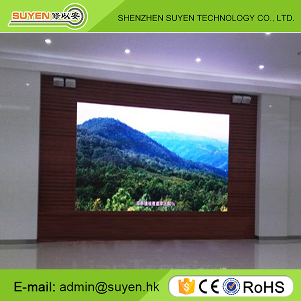Video function P6 smd3528 indoor fixed led sign display