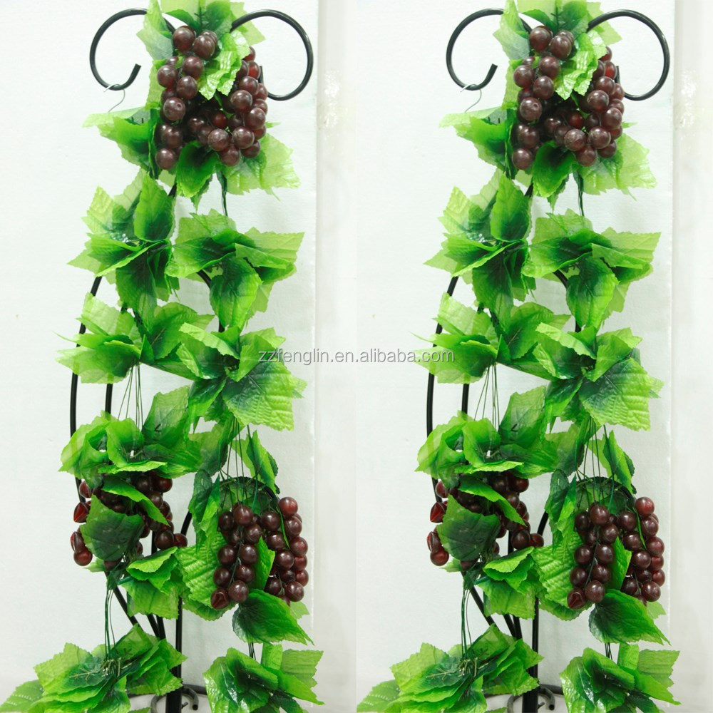 Home decorative grape vine cheap wholesale hanging for Artificial grape vines decoration