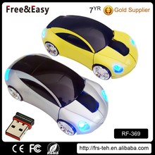3d Optical Car Shape Wireless Mouse With USB Driver