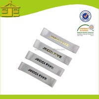 Eco-friendly self adhesive heat transfer printed label/fancy Iron On label printing