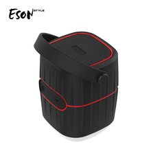 Eson Style bluetooth 8800mAh powered marine speakers,Dustproof/Shockproof/Anti-Scratch horse lamp Camp LED